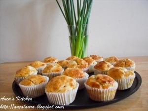 Muffins cu cartofi